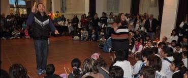 Quedó inaugurado el Encuentro Regional de Integración por el Arte en Olavarría