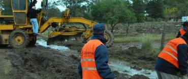 El Gobierno Municipal continúa trabajando tras las fuertes lluvias