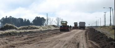 El Gobierno Municipal avanza en la pavimentación en la Zona de Actividades Logísticas de Olavarría