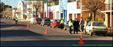 El Gobierno Municipal realizó operativos de control de tránsito