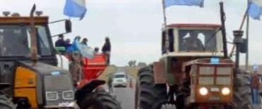 Paro nacional del campo. comienzan los tractorazos