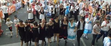 El Ballet de Danzas Alemanas en el Carnaval Cultural de Alemania