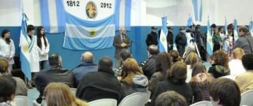 La Madrid: acto oficial Día de la Bandera