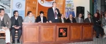 La Madrid: el intendente participó de un encuentro por el Programa BA Integra