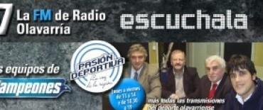 """El equipo """"Pasión Deportiva"""" transmite desde los estudio de ESPN"""