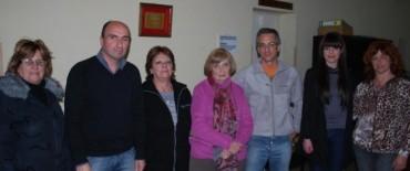El Intendente Eseverri se reunió con la comisión del Centro Cultural Municipal de Hinojo