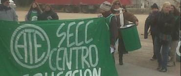 Protesta de Estatales: en Olavarría con cortes intermitentes en la ruta 226 a la altura de Rivadavia