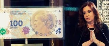 Oficial: los billetes de Eva son de curso legal y se podrán utilizar en los cajeros automáticos