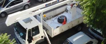 Por varios cortes de electricidad se movilizan media docena de cuadrillas de Coopelectric