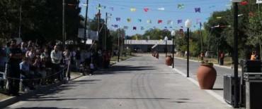 Satisfacción en la localidad de Crotto por los avances del pueblo