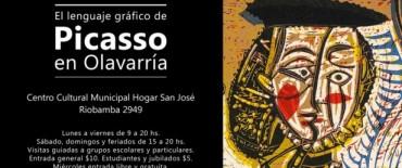 El lenguaje gráfico de Pablo Picasso llega a Olavarría