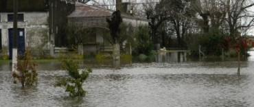 Espigas: anegamientos y cuatro familias evacuadas
