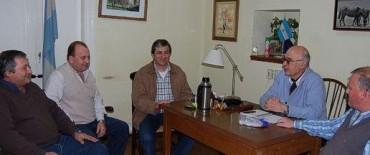 Saladillo: Gorosito se reunió con funcionarios municipales por el tema hídrico