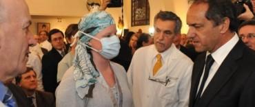 Scioli destaca nivel de donación de organos en la provincia