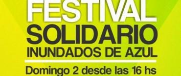 Festival Solidario por los Inundados de Azul