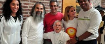 El Intendente Eseverri participó del encuentro  de Yoga  con el maestro Jorge Bidondo