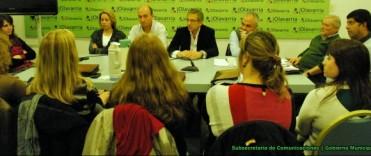 El Intendente Eseverri encabezó la reunión del equipo de gestión de  Desarrollo Social