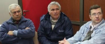 Azul: Funcionarios nacionales se reunieron con vecinos y cooperativas por la construcción de San Martín de Porres