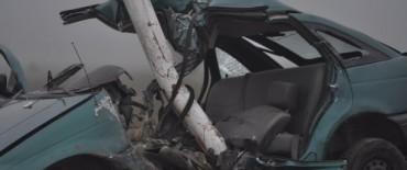 Una víctima fatal en un accidente en Ruta 226 y 51