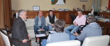 El Intendente recibió a integrantes de la Comisión Organizadora de la Fiesta de Reyes