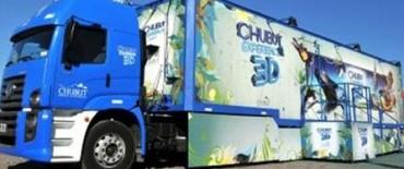 El camión de Chubut Turismo llegó a Olavarría