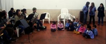 Concierto didáctico en el Jardín de Infantes Nº 928