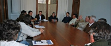 El Consejo de Seguridad recibió al Jefe Departamental Juan Carlos Lazarte