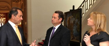 General Alvear:  El intendente Cellillo fue recibido por el Gobernador Scioli
