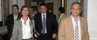 """Massa: """"la reforma de la constitución no está en la agenda"""""""