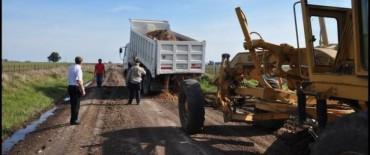 Caminos Rurales: el Municipio mostró trabajos de reparación y mantenimiento