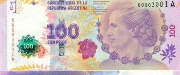 Ya circulan los billetes de Evita