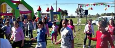 Los chicos del Servicio Territorial Municipal Nº1 tuvieron su fiesta