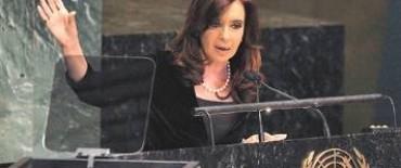 """Cristina desafió al FMI y acusó al organismo de """"amenazar"""" al país"""