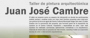 Comienza el Taller de Pintura Arquitectónica dictado por Juan José Cambre