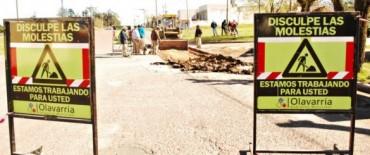 El Gobierno Municipal inició obras de reparación de losas de hormigón en Junín y Av. Pueyrredón
