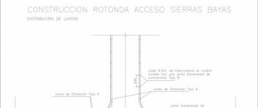Más obras para la localidad de Sierras Bayas: se licitó la rotonda de acceso