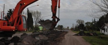 Están en marcha los trabajos de repavimentación y construcción de la doble vía en la autopista Luciano Fortabat