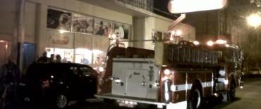 Trabajaron los bomberos