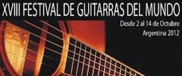 XVIII Festival Guitarras del Mundo en el Teatro Municipal