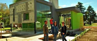 Se está finalizando el nuevo espacio institucional del Gobierno Municipal en la Expo Olavarría 2012
