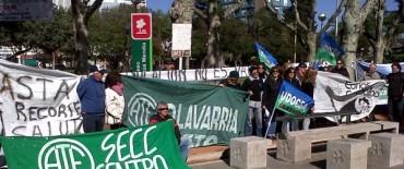 Paro y movilización de CTA: los gremios adheridos concentran en 3 y 226