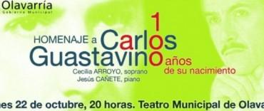 Homenaje al compositor Carlos Guastavino en el Teatro Municipal