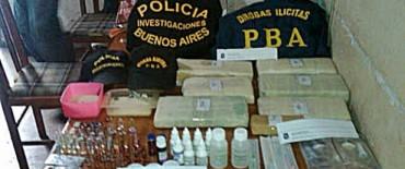 Secuestraron siete kilos de marihuana