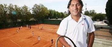 Marcelo Gómez, un formador de tenistas