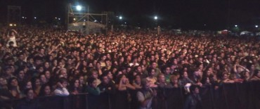 Magnífica: más de 60 mil personas en la fiesta aniversario de Olavarría