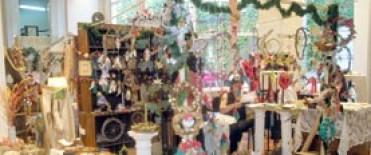 Bazar artesanal de Navidad