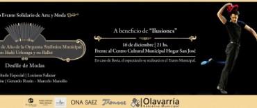 """Comienza la venta de plateas para el 2º Evento Solidario """"Arte y Moda"""""""
