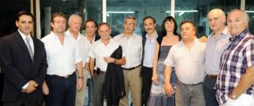 El Intendente Eseverri cerró el acto de lanzamiento del espacio de Sergio Massa en La Plata