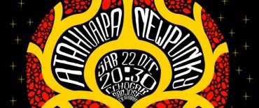 "Atahualpa New Punky en el Centro Cultural Municipal ""Hogar San José"""