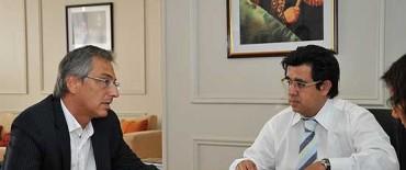Eseverri reiteró el pedido de mantenimiento de la Ruta 51 al Ministro Arlía